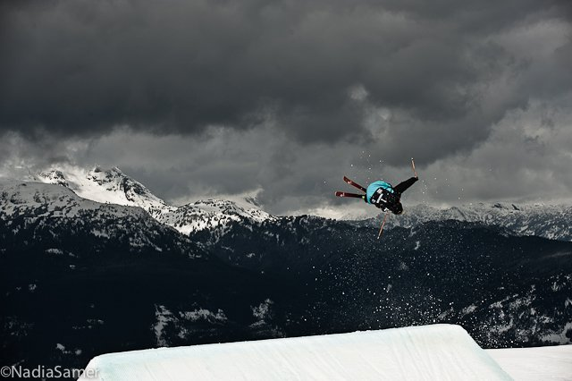 Tom Wallisch @AFP World Champs Slopestyle