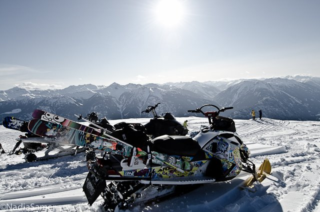 Sled Accessed Paradise