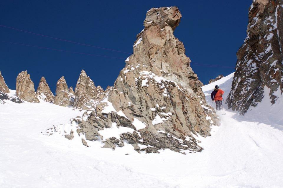 Charging Lower Pinnacles