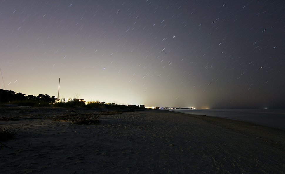 Beach Long Exposure