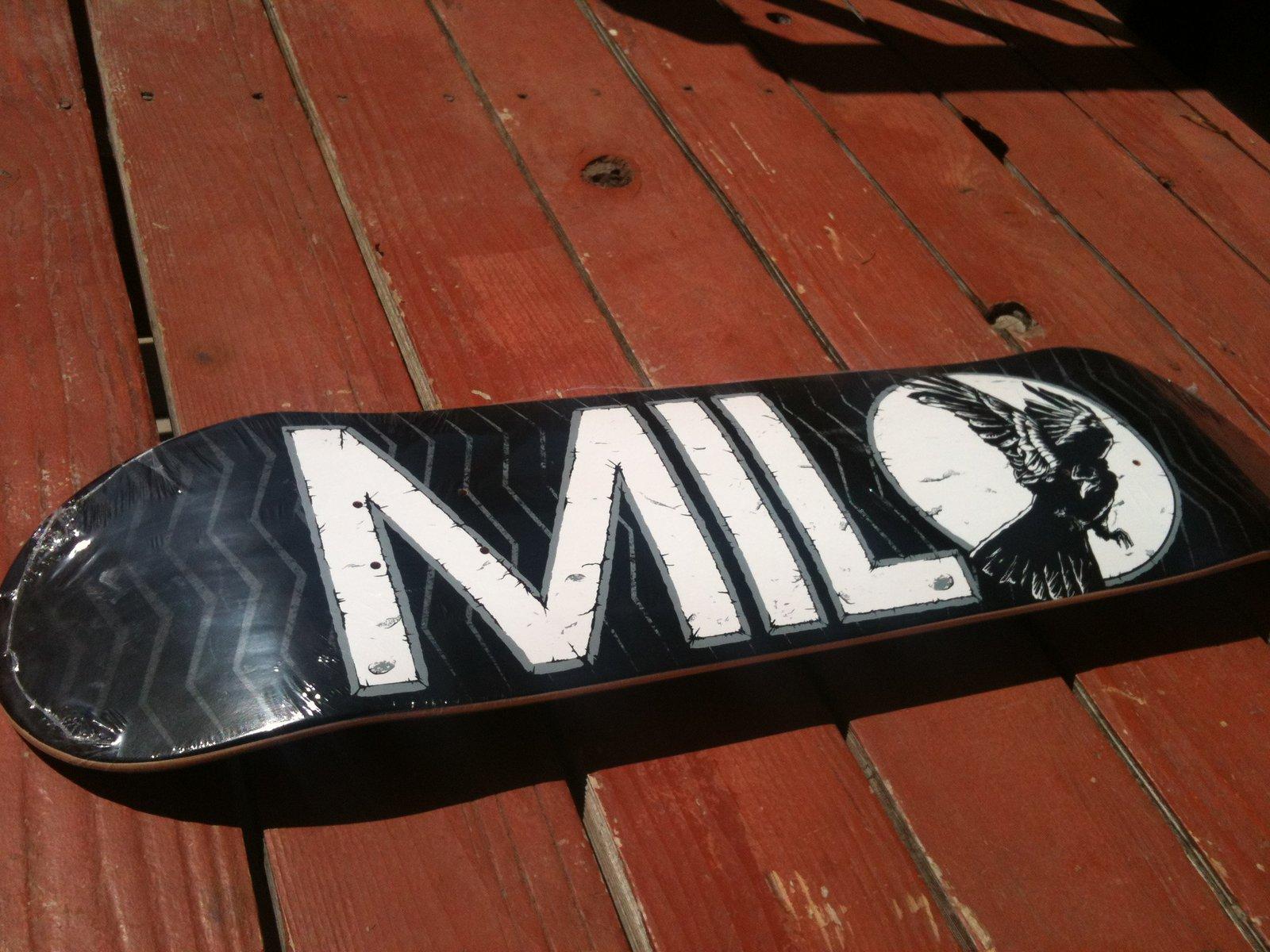 NEW (IN PLASTIC) Milo Skate Deck