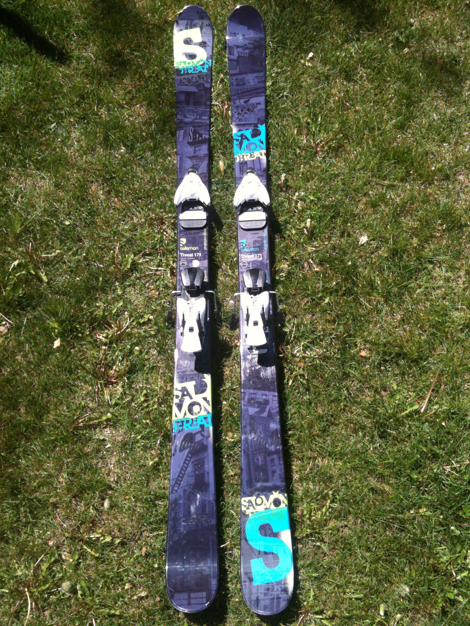 NEW 171 Salomon Threats w/ NEW Salomon STH 12 bindings