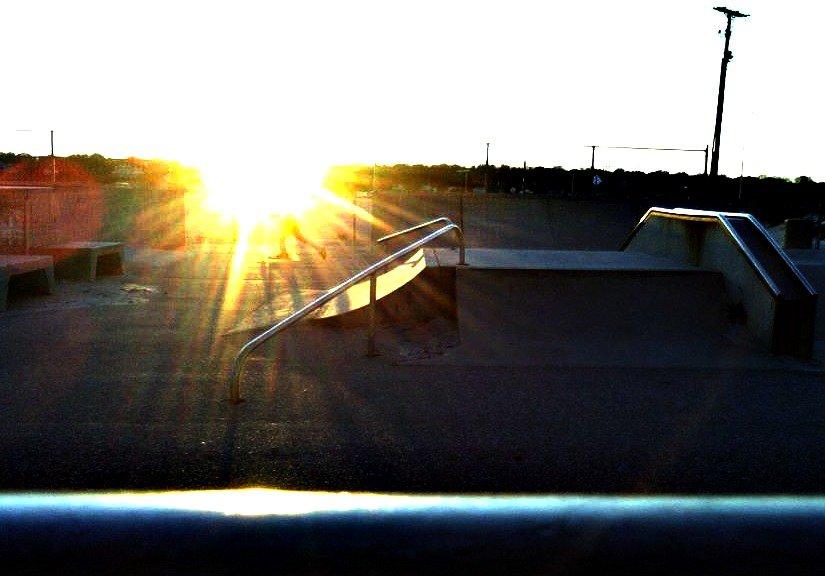 Sketchy ass skatepark