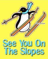 penguin on sticks