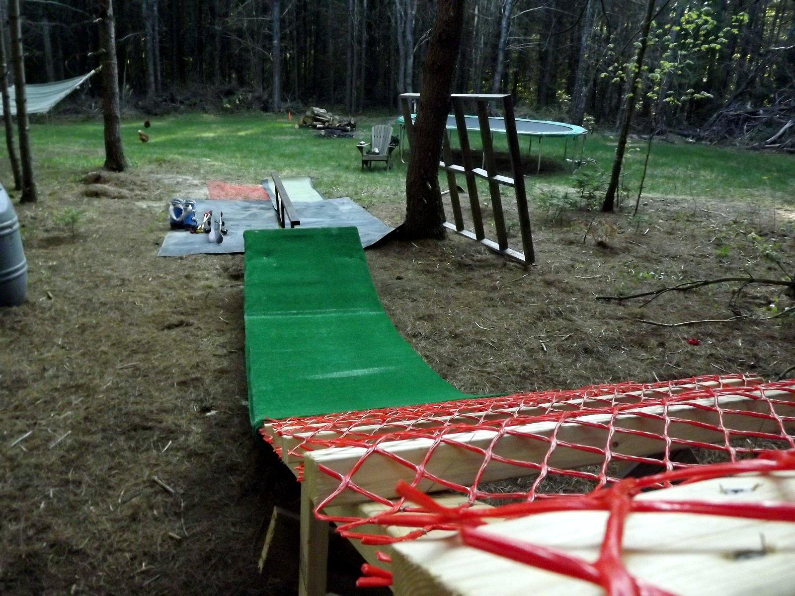 Summer Ski Setup