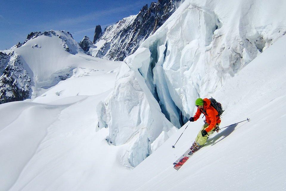 Still skiing: Chamonix, 16th May