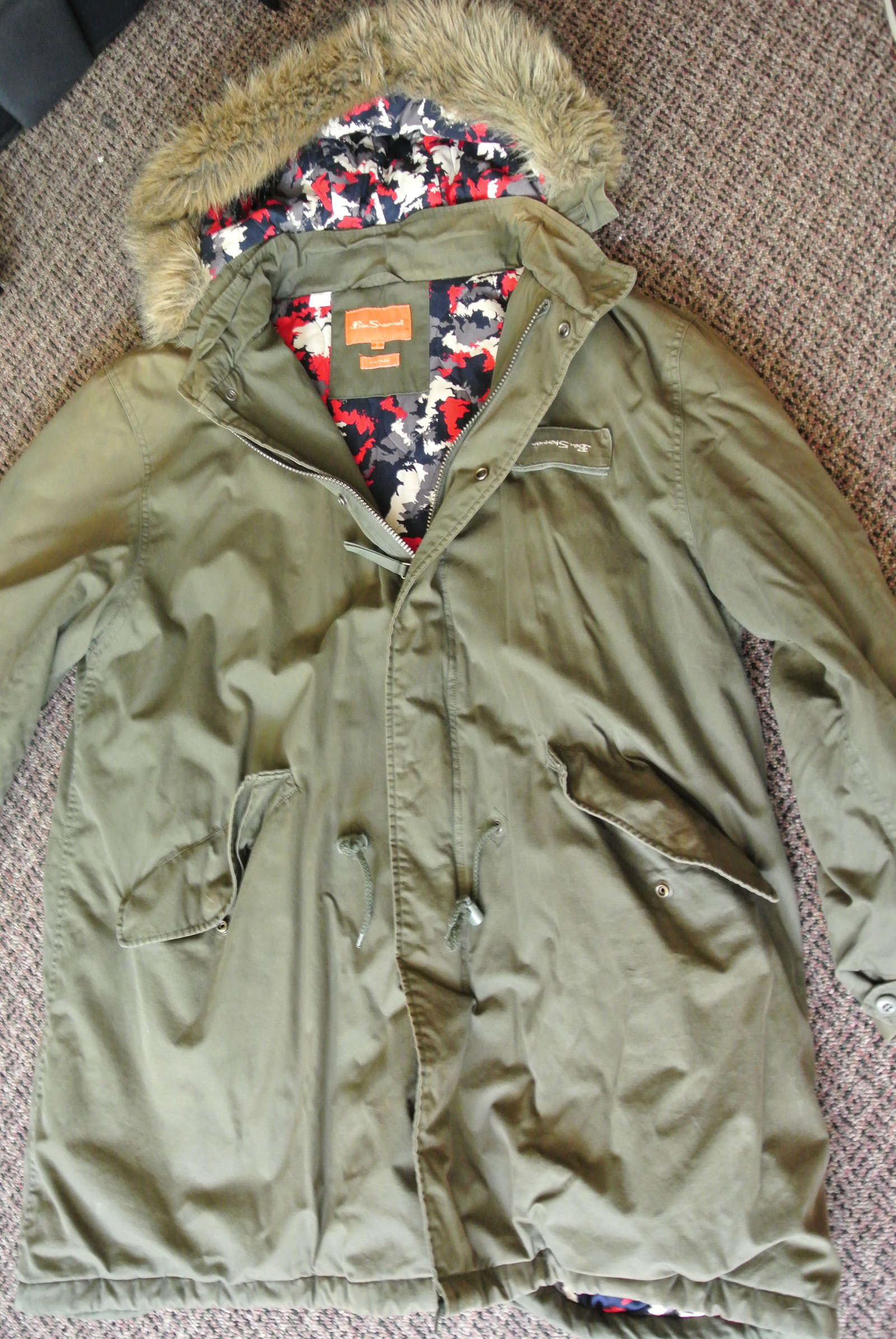 Ben Sherman Trench Coat