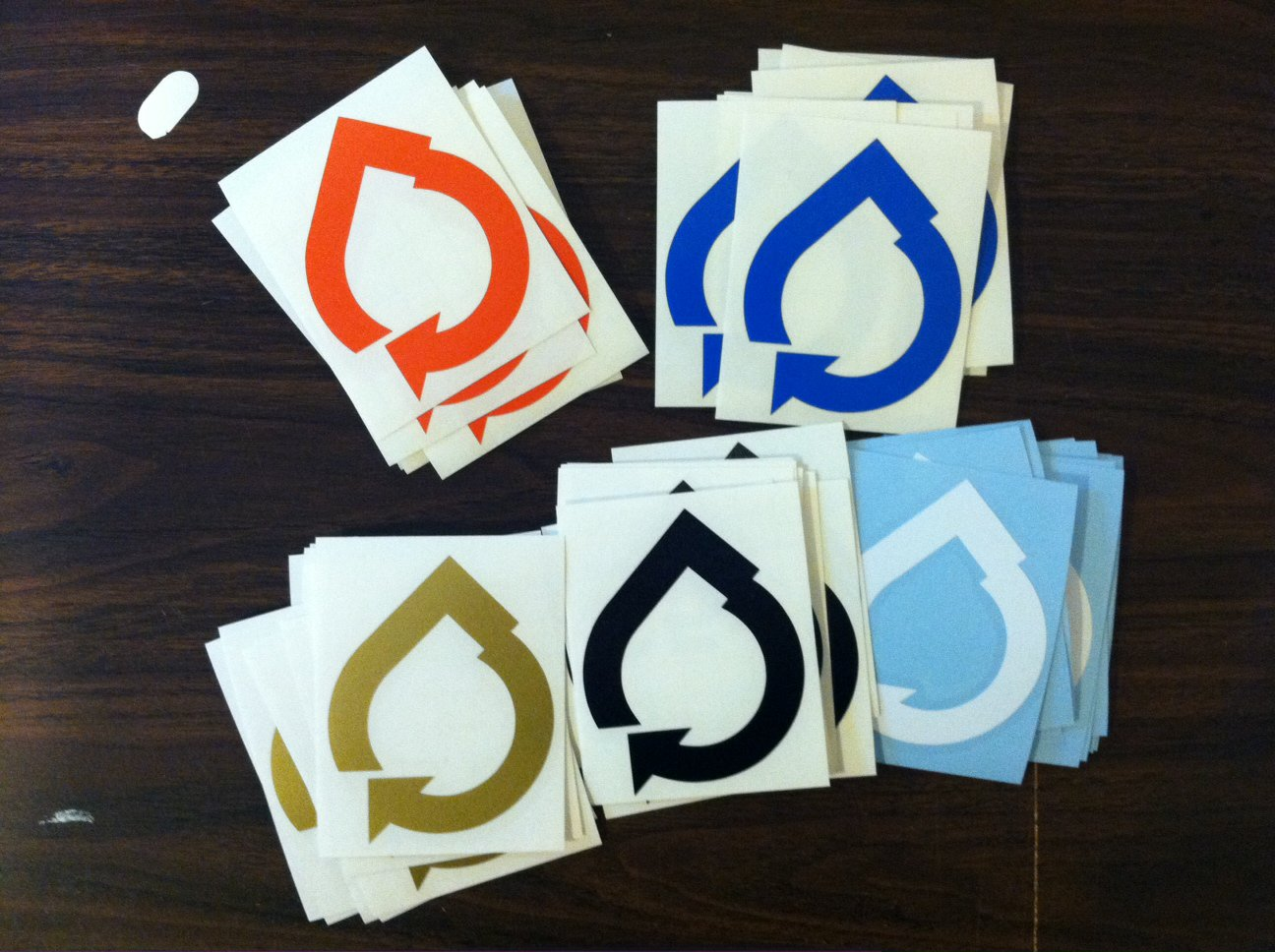 Fresh Water Collective stickers