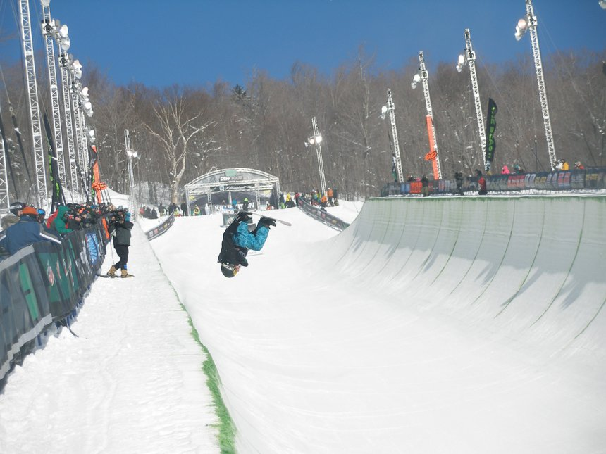 Doing Work in the Super Pipe