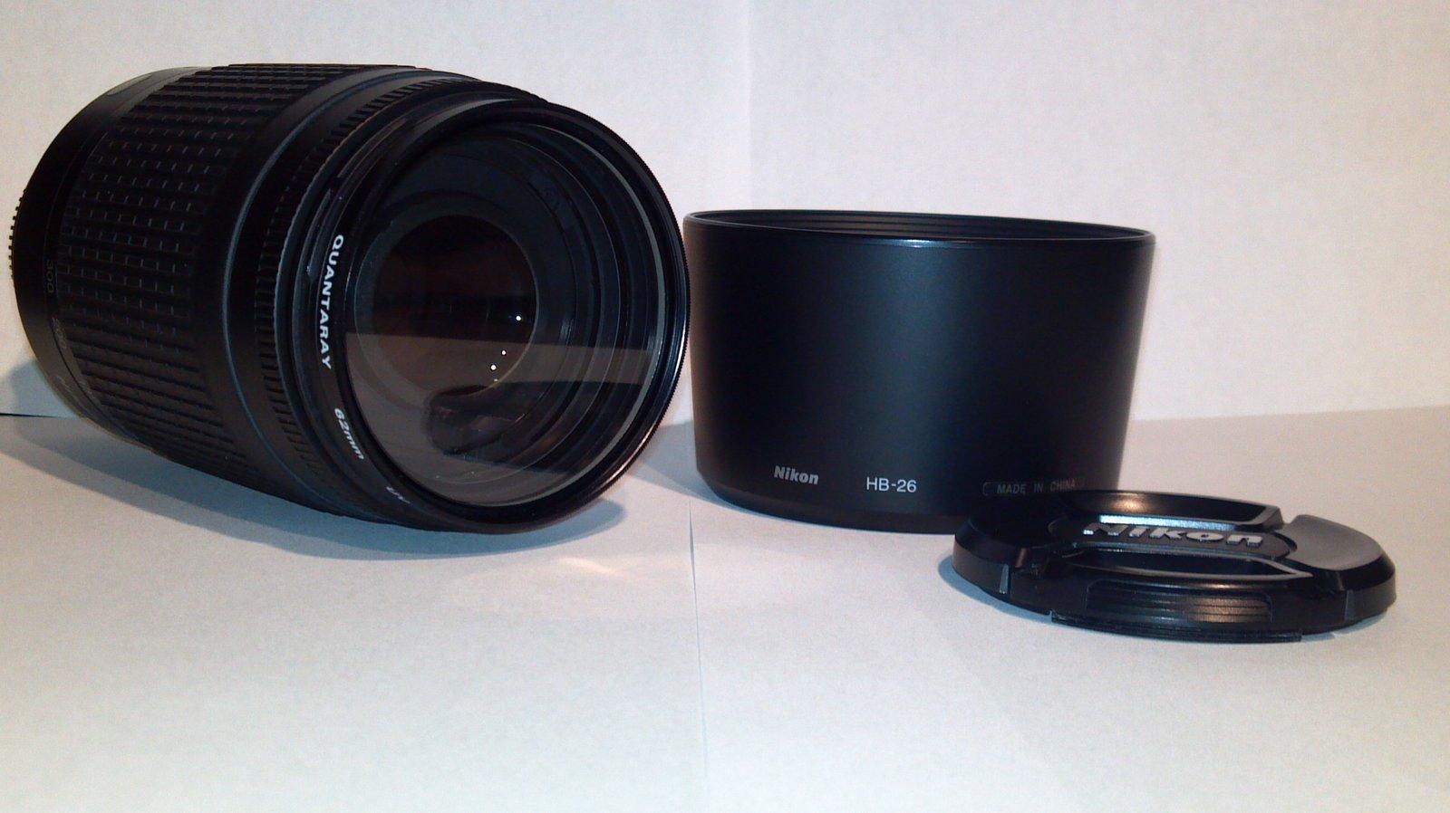 FS: Nikon Nikkor 70-300