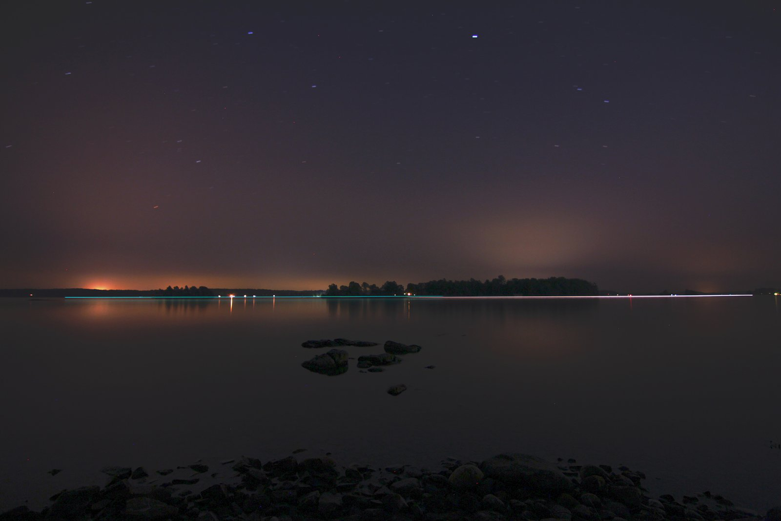 Stars at the 1000 islands