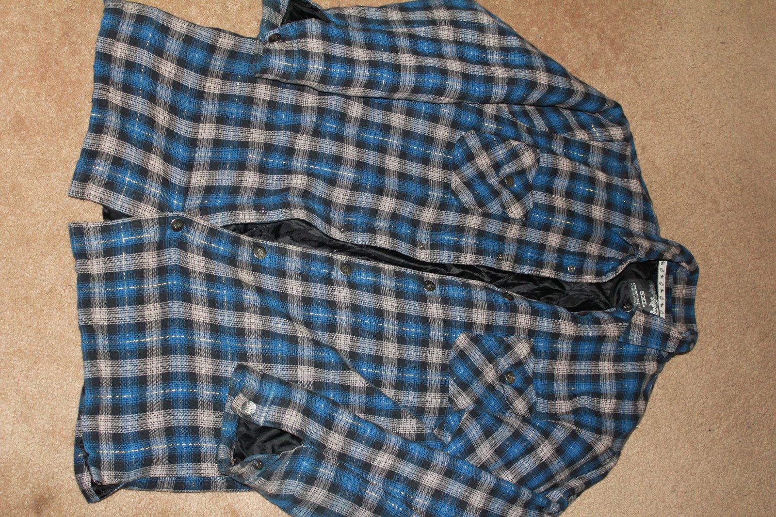 5X Jiberish Flannel