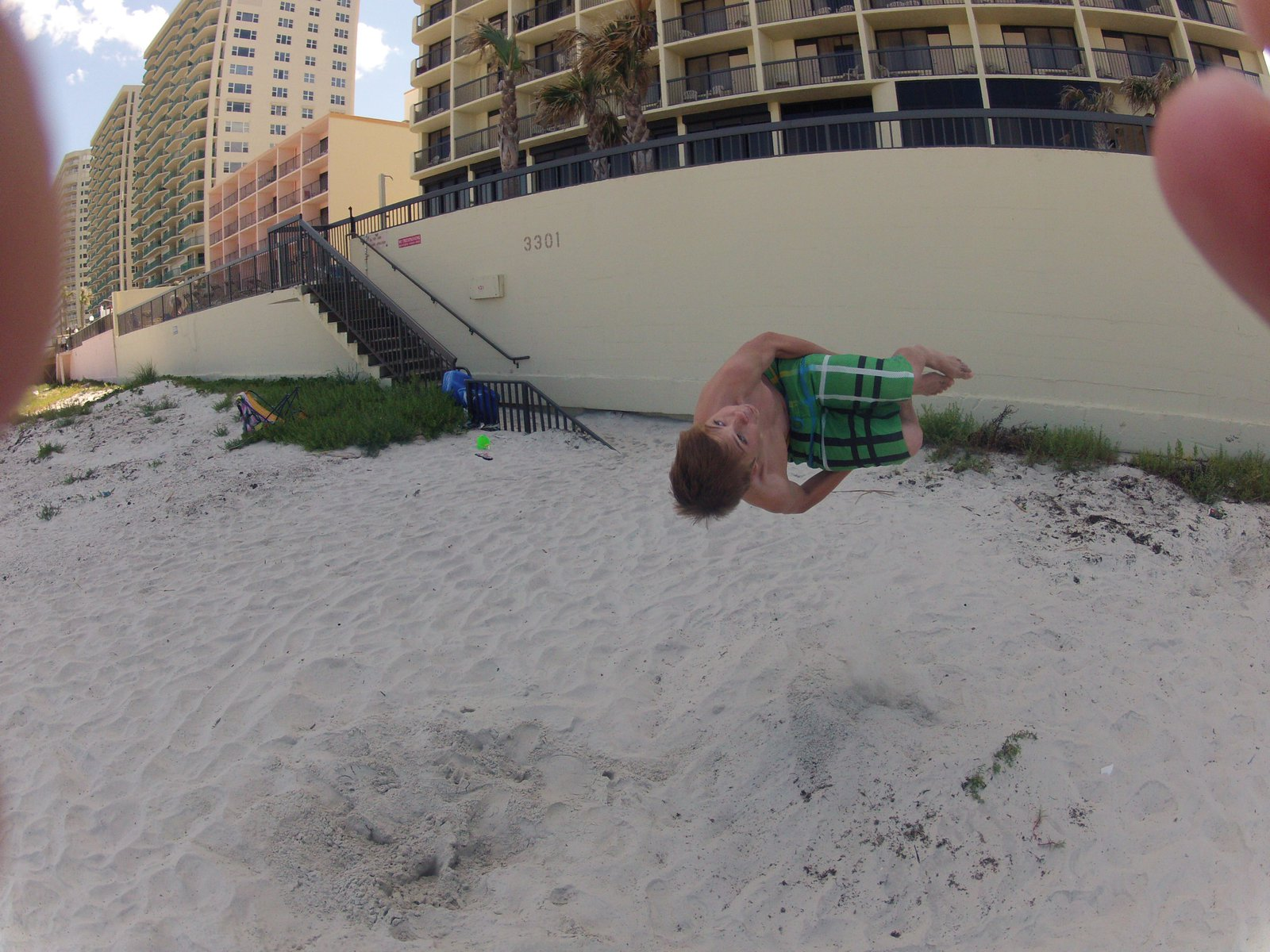 Flippin On the Beach