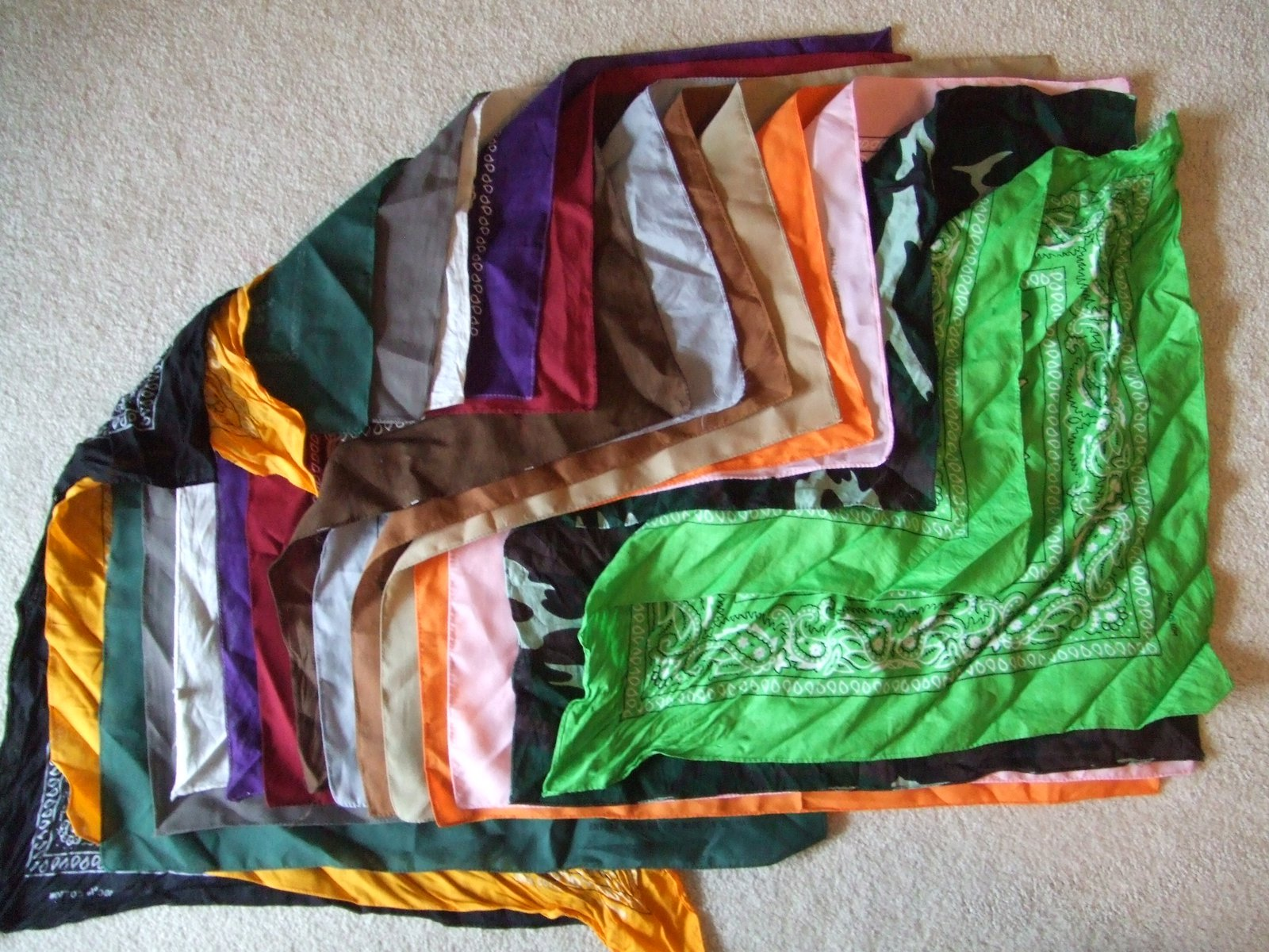 Assortment of Bandanas