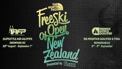 New Zealand Freeski Open Registration