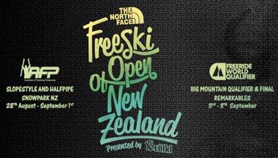 New Zealand Freeski Open Registration