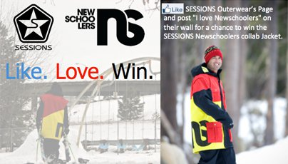 Win A Sessions/Newschoolers Jacket!
