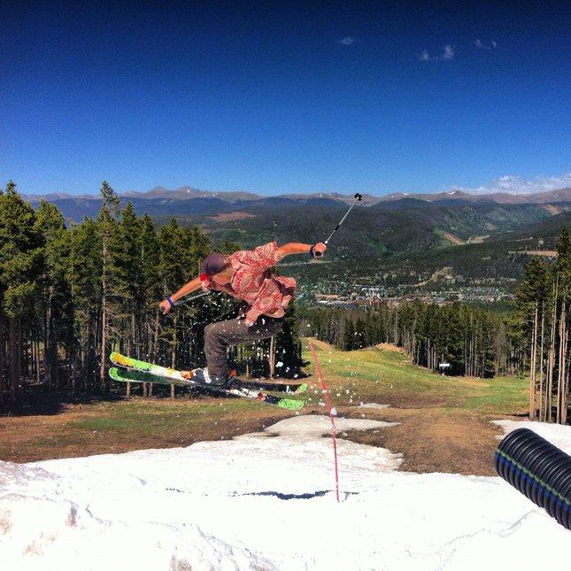 June at Breck