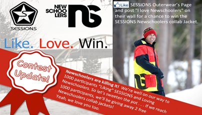 Win Another Sessions/Newschoolers Jacket!