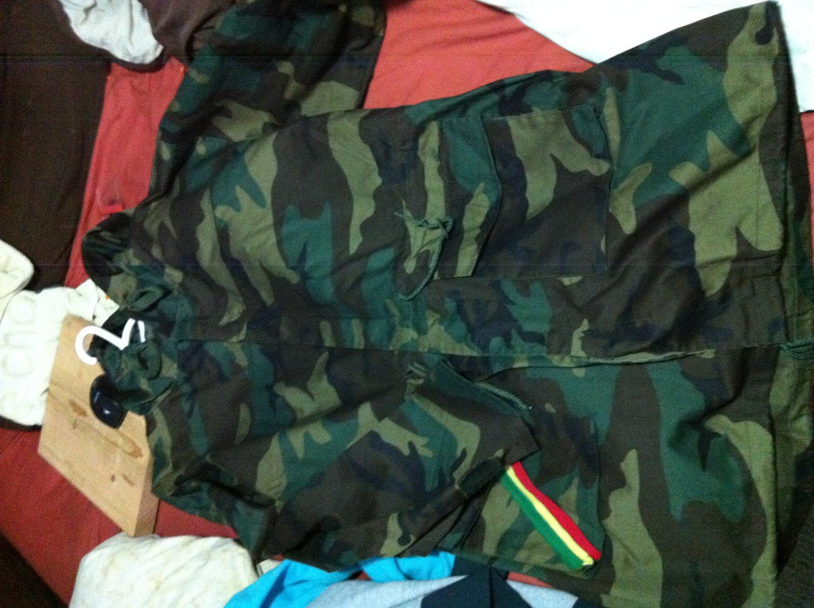 3x camo jacket
