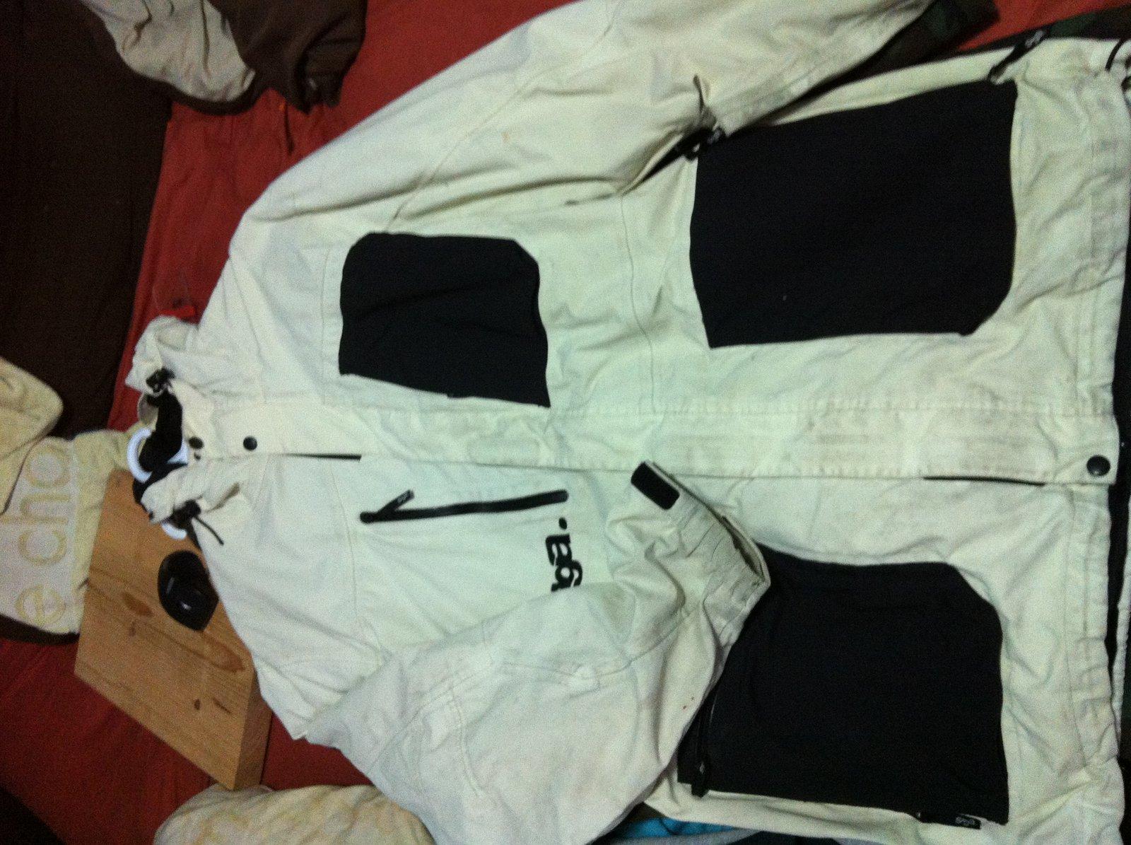 xl saga ivory jacket
