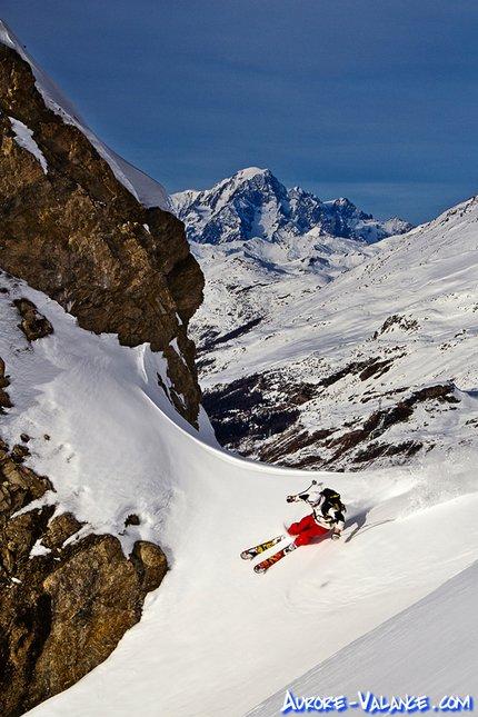 Facing Mont Blanc