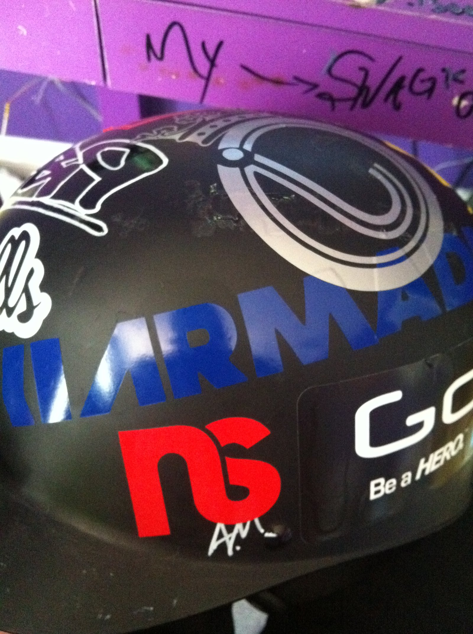 Helmet 1 (Stickers)