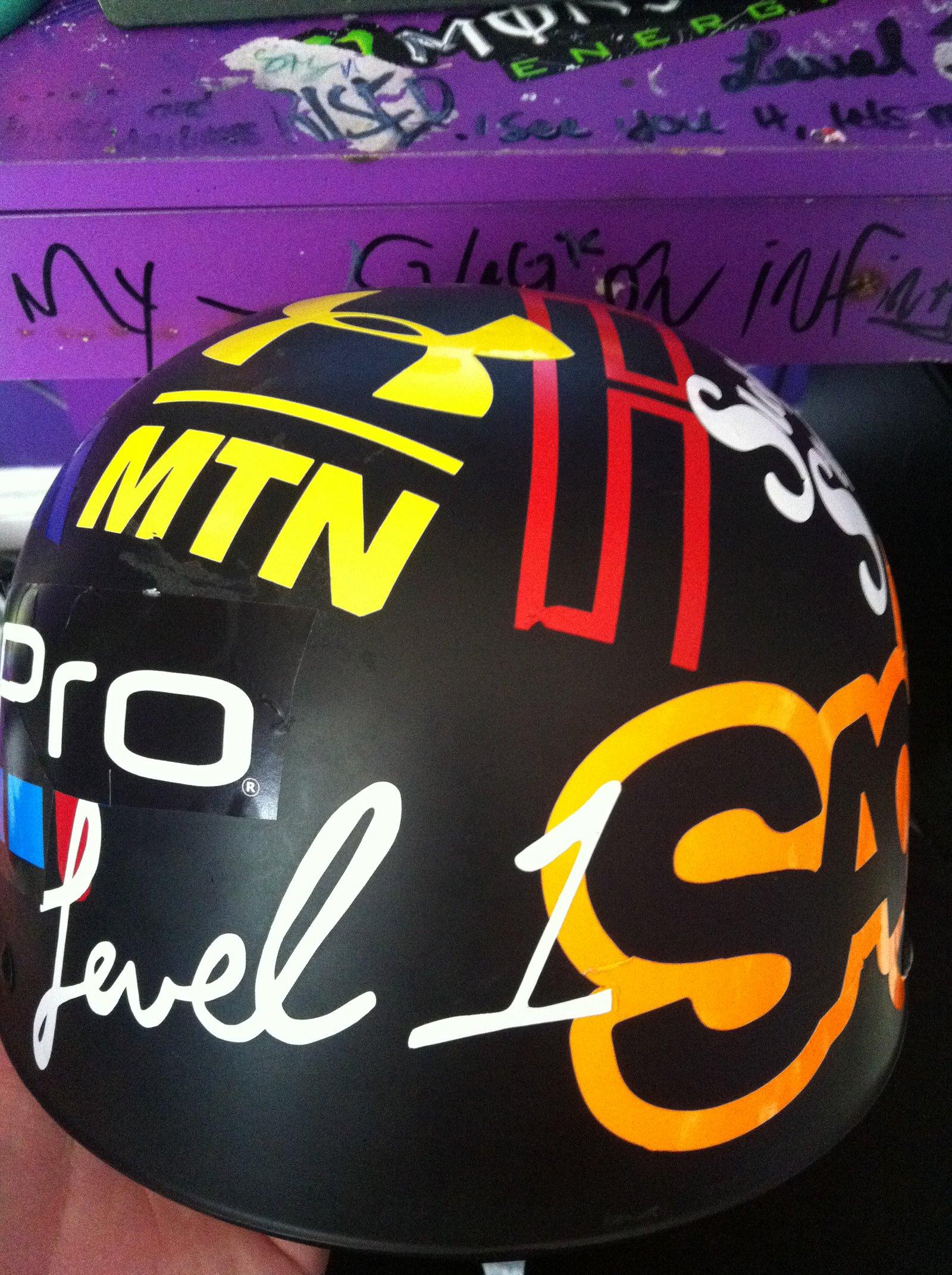 Helmet 3 (Stickers)