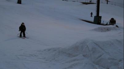 skis cliped