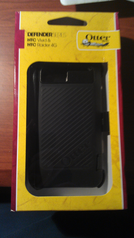 HTC Vivid, Raider or Velocity Black OEM Otterbox Defender Series