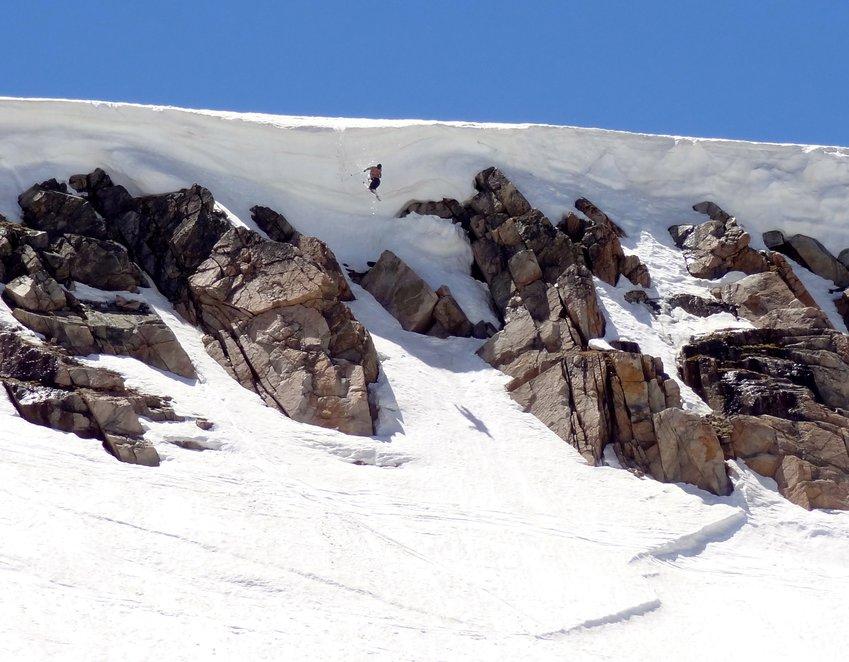 summer cliff at Beartooth Pass