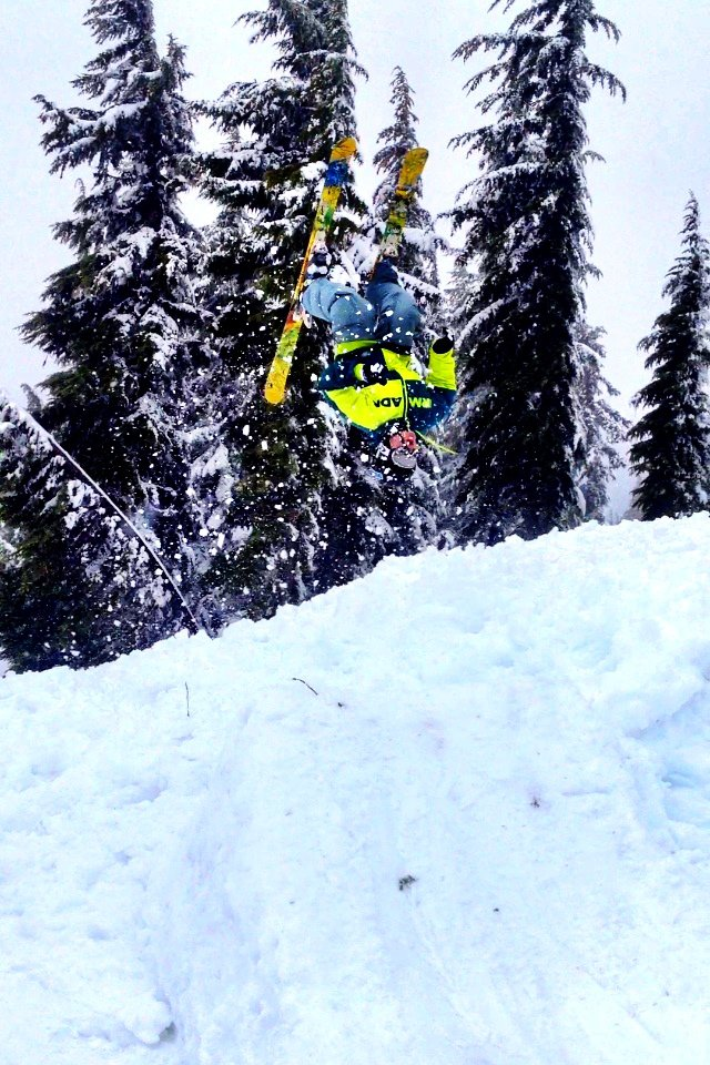 Powder Backflip at Windell's