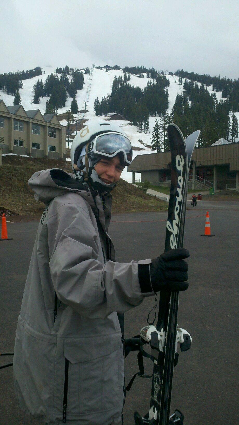 Summer Skiing at Bachelor