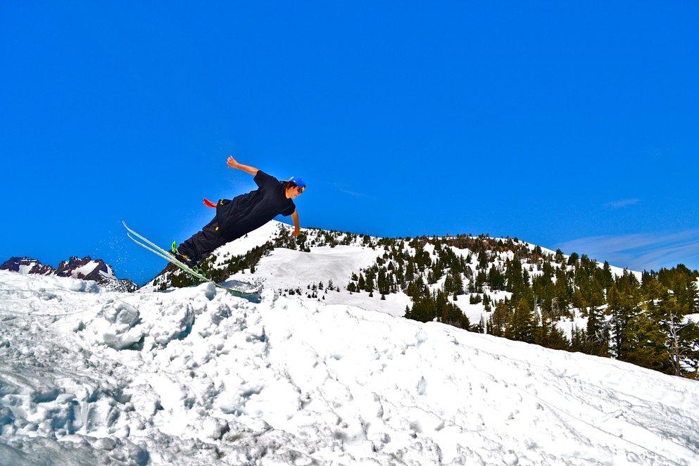 lots of snow in june,