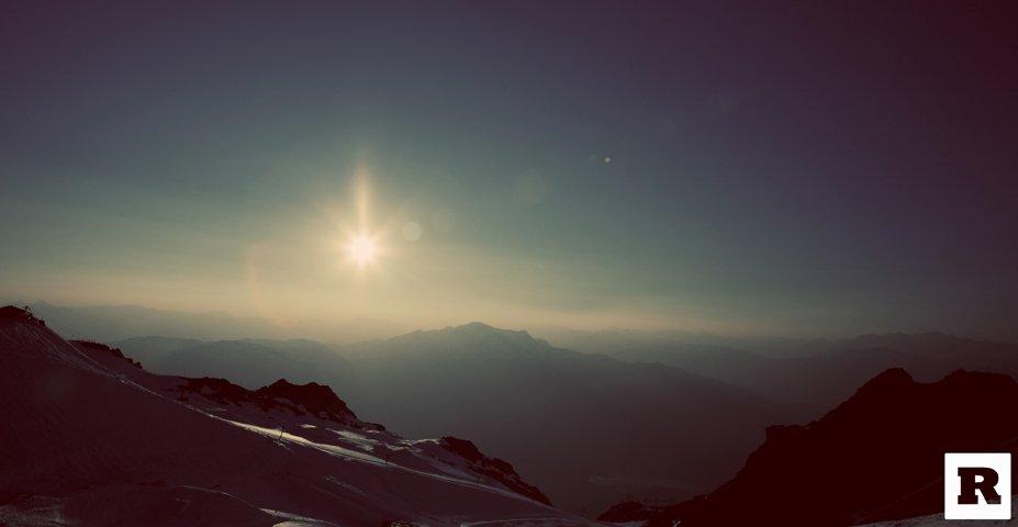 Sunset Whistler Blackcomb