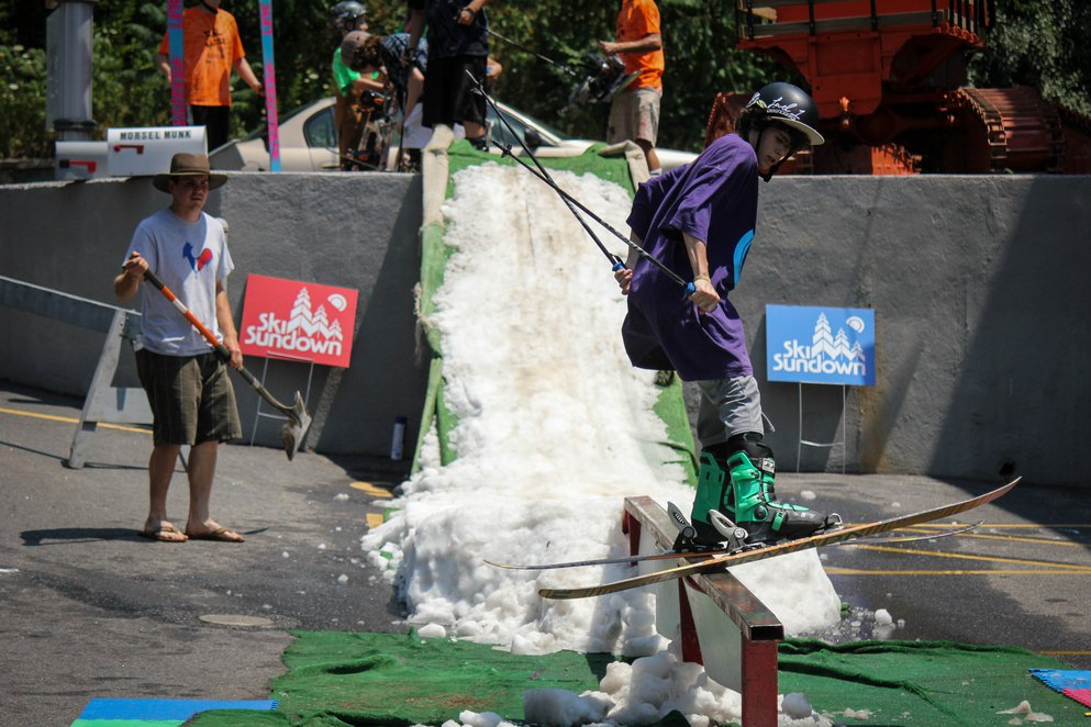 Rail Jam in July