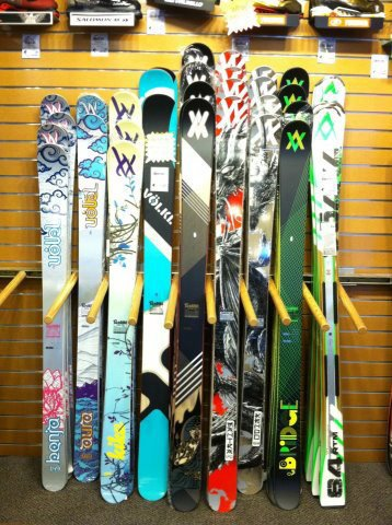 New Volkl skis are in
