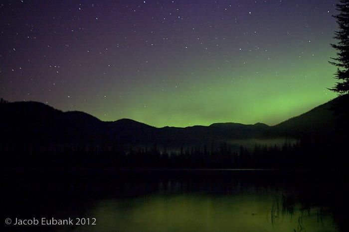 Northern Lights @ Upper Whitefish Lake