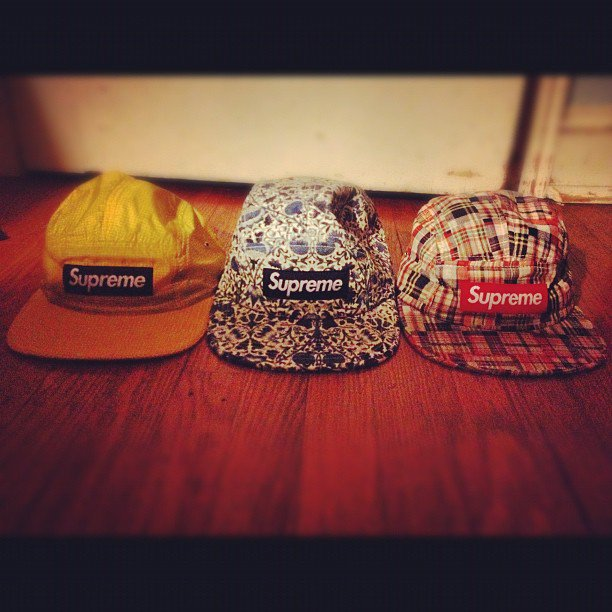 Supreme Camp Caps