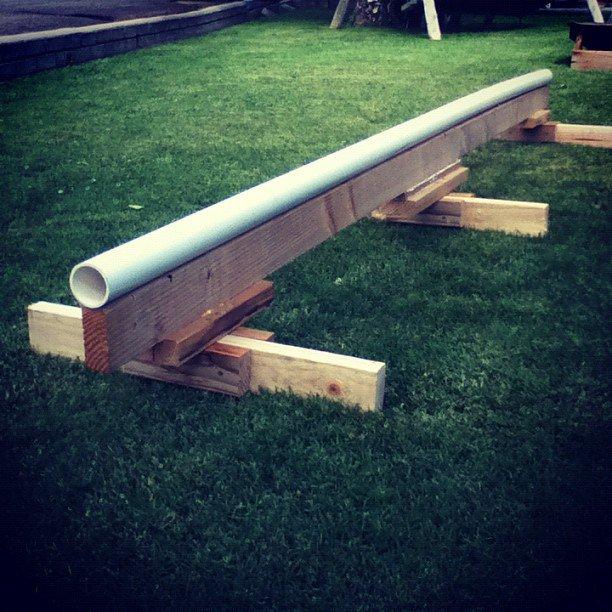 Summer setup rail
