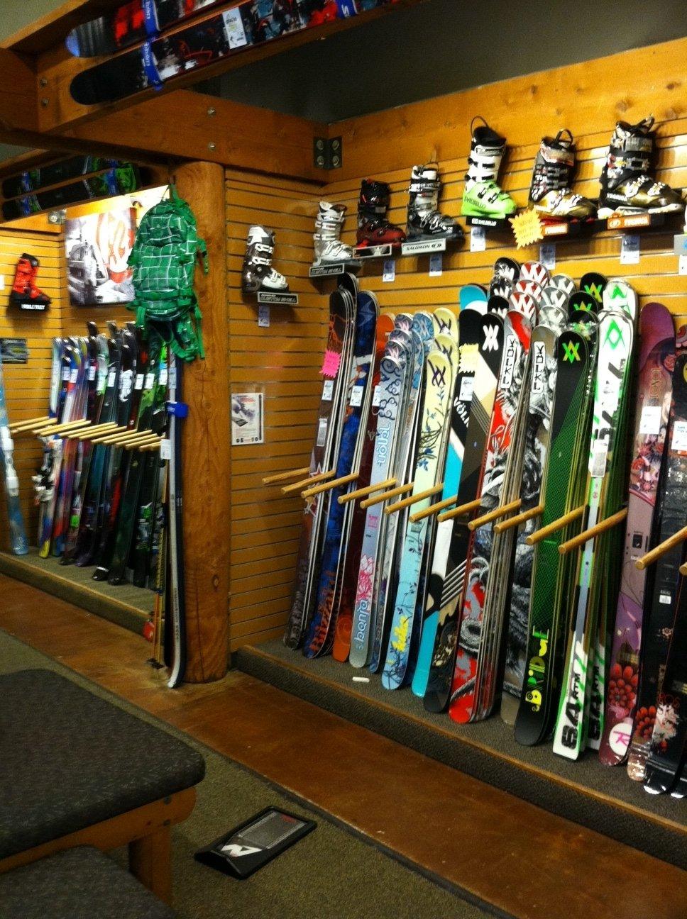 Ski Wall July 2012