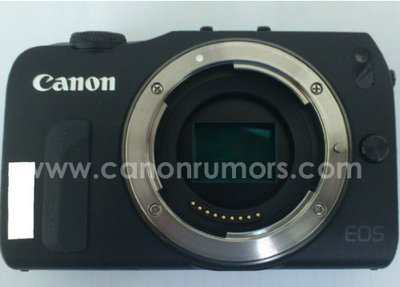 More Leaked Photos of the Canon EOS M Mirrorless Camera