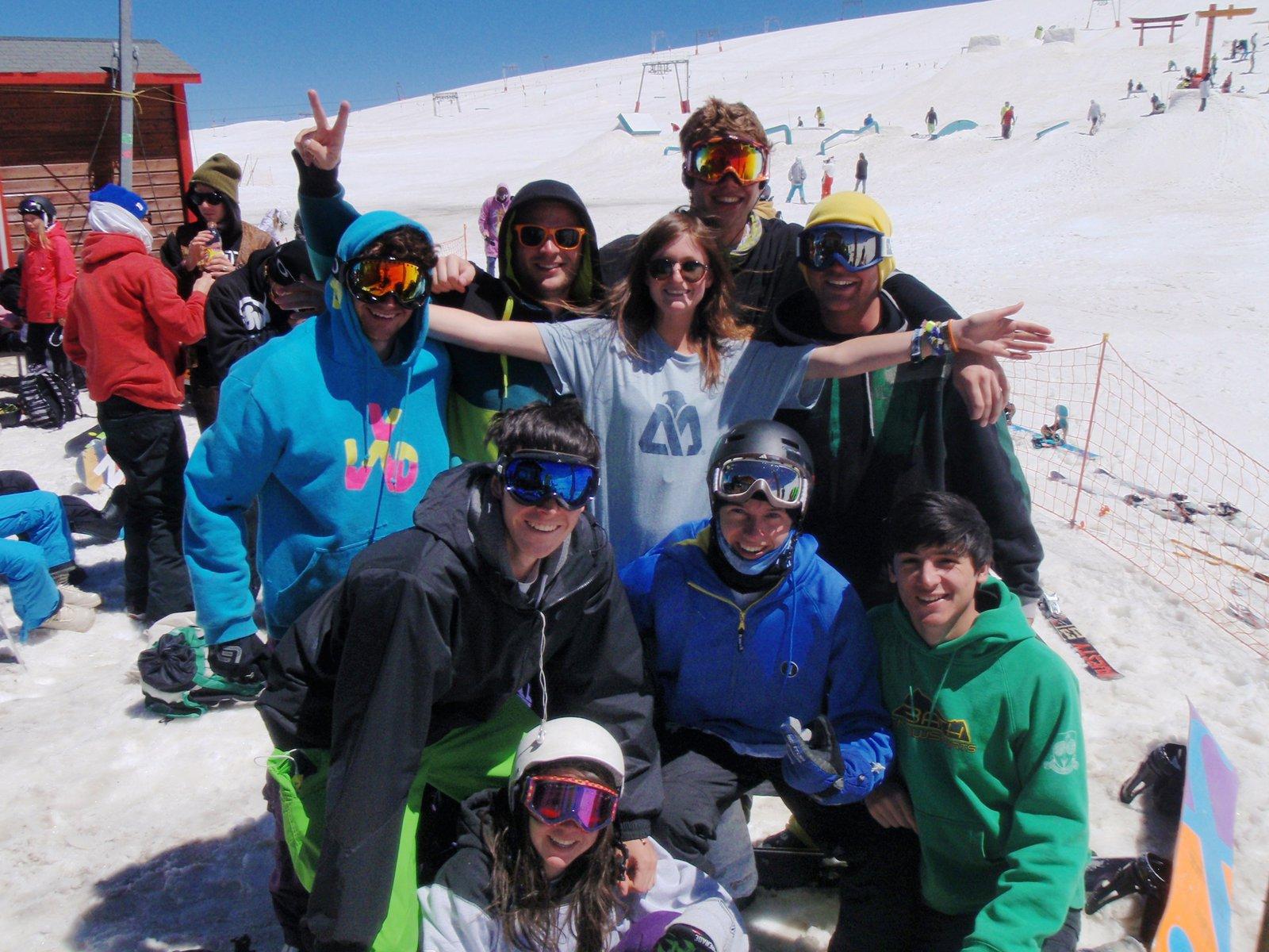 Deux Alpes crew summer '12 !