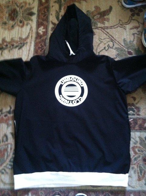 Unbound circle hoodie