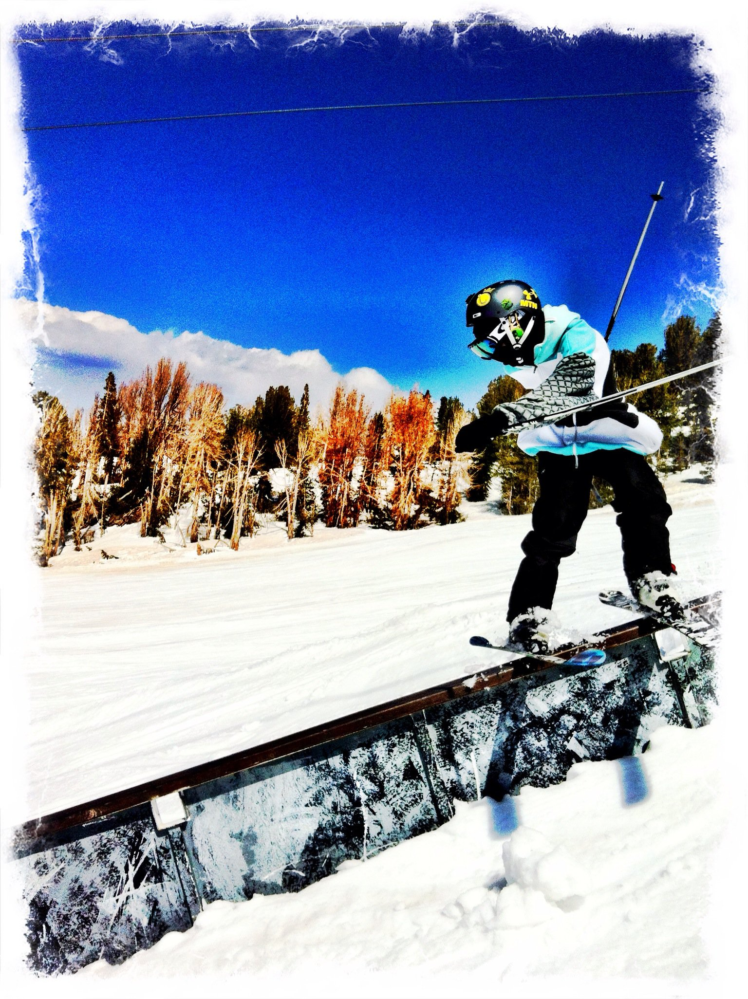 Mammoth down rail!