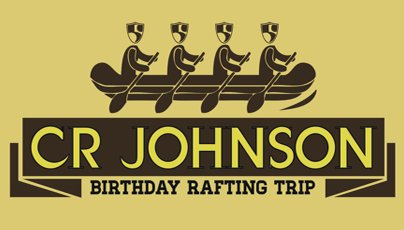 CR Johnson Birthday Rafting Trip