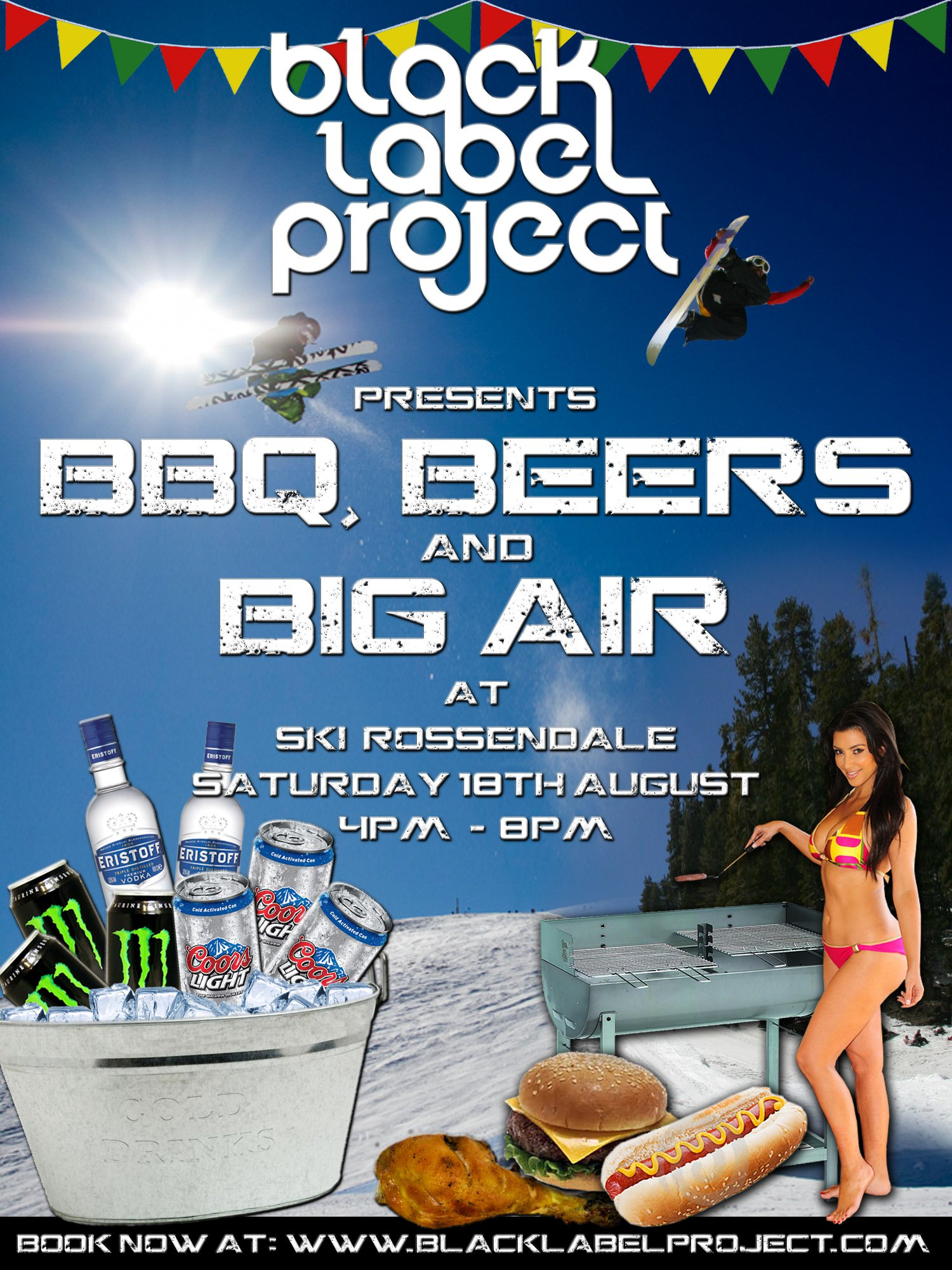 BBQ Beers and Big Air