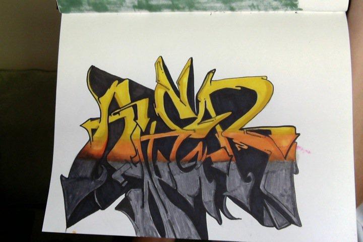 Graffiti (Anger)