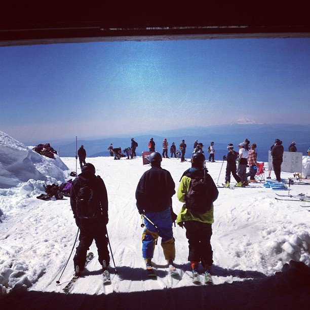 Top of the Palmer Lift
