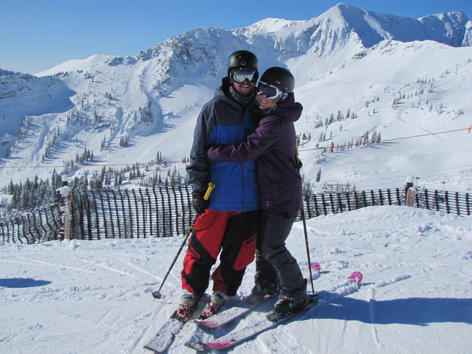 me & the fiance
